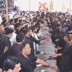 Mourning processions on 9th Muharram