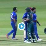 VIDEO: Shoaib Malik comforts Afghanistan's Aftab Alam after he breaks into tears