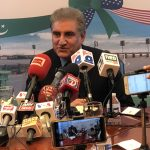 US, China both important to Pakistan, Qureshi tells press in DC