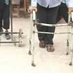 Polio affectee devotes life to education of differently abled children