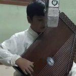 Izat Ali Khan, an adorable 8-years-old classical singer