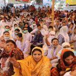 Nurses stage protest outside Karachi Press Club