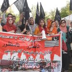 Protest held outside Indian High Commission against Indian oppression in IHK