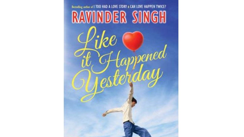 Like It Happened Yesterday Book