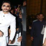 Ranveer Singh, Deepika Padukone leave for destination wedding in Italy
