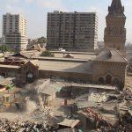 'Illegal' shops around Empress Market torn down