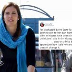 'Denying reality doesn't change it': Imaan Mazari slams US blogger Cynthia Ritchie over bicycle photo, latter responds