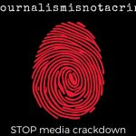 Government crackdown on media stifles freedom of speech