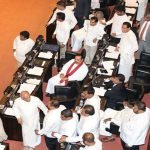 Sri Lanka grinds to political halt amid parliamentary chaos