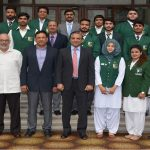 Cash awards to WAPDA players for winning medals in international events