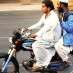 Pillion riding banned in Sindh for 10 days