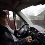 'Angel', 80, drives to aid of poor St Petersburg pensioners
