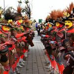 Tribal welcome for Xi in PNG