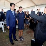 Abe ends Australia trip with tribute to fallen Japanese submariners
