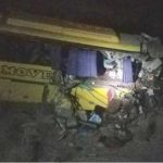 Three dead, 12 injured after passenger bus crashed in Hub