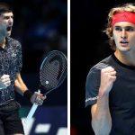 London ATP: Zverev and Djokovic through to final