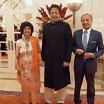 Malaysian first lady asks PM Khan if she could hold his hand