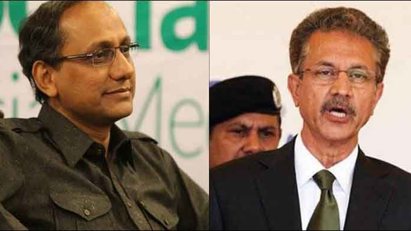 Image result for Saeed ghani and wasim akhter
