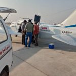 Edhi air ambulance starts working again