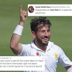 'Whole nation proud': Twitter reacts to Yasir Shah breaking 82-year-old record