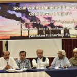 Pakistani activists announce launch of Anti-Coal Alliance