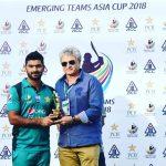 Hussain Talat ,Farhan clinch victory for Pakistan U23