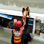 Six drown as passenger bus falls into canal near Taunsa
