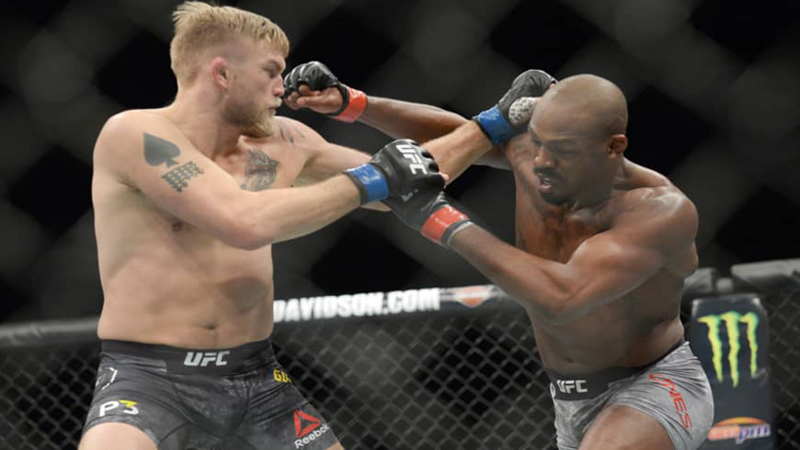 Jones KOs Gustafsson in UFC return to reclaim light heavyweight belt
