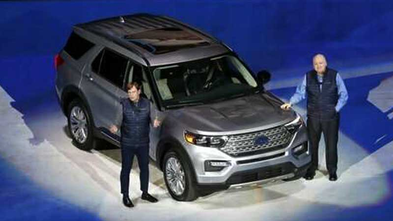 Ford And Cadillac Suvs Toyota Sports Car Star At Auto Show Daily