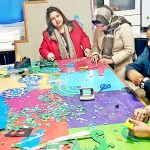 Mosaic Art Workshop aims to inculcate creativity among blue-collar staff