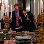 Burgers and fries on White House menu as Trump lays on fast food feast