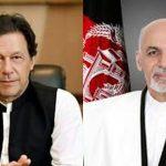 Imran, Ghani discuss bilateral relations