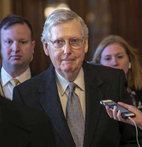 Duelling bills to end United States government shutdown both fail in the senate