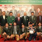 Air Chief awards cash prizes to Asian Junior Squash Champions