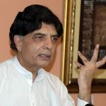 Nisar may take oath as MPA after three years