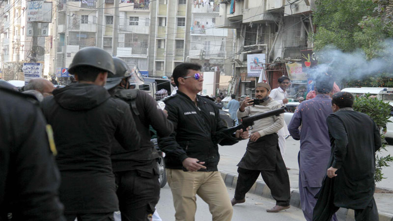 tlp acting chief among dozens taken into custody daily times