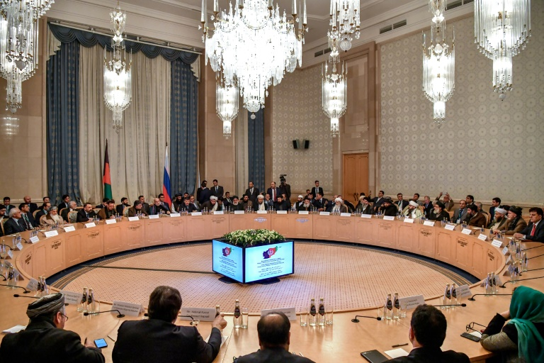 Afghan regime frozen out of Moscow peace talks with the Taliban