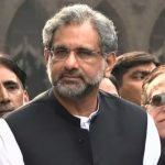 Abbasi claims NAB targeting opposition politicians