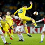 Arsenal lose at BATE as Chelsea, Napoli and Inter win in Europa League