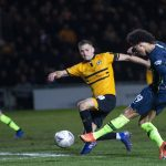 Manchester City end Newport's Cup dream to reach quarter-finals