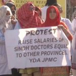 Sindh government to initiate legal action against doctors on strike