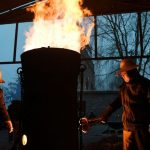 Blacksmiths keep alive the flame of China's molten steel 'fireworks'