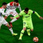 UEFA Champions League: Barcelona draw blank in Lyon to leave tie open