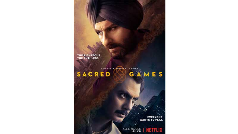It's a wrap for 'Sacred Games' Season 2 - Daily Times