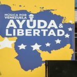 Competing concerts to duel on Venezuelan border