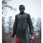 Three charged for toppling statue of accused Polish sex abuse priest