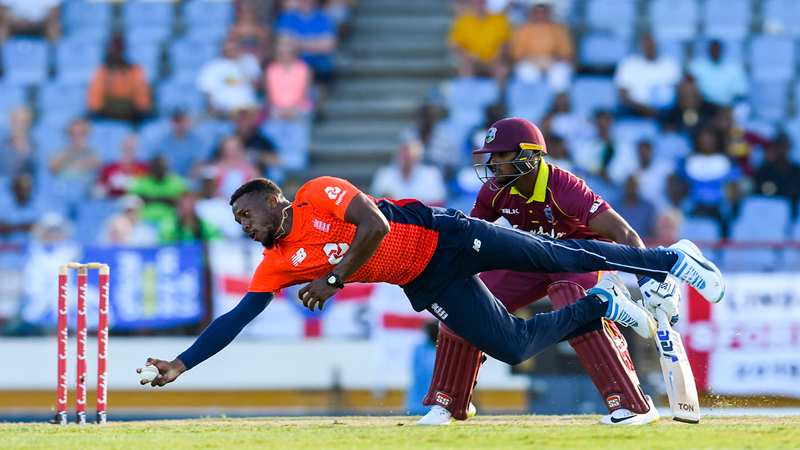 Bairstow bludgeons Windies in T20 opener