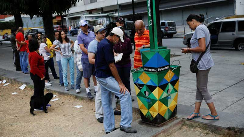 Venezuela enters fourth day of blackout, Maduro blames U.S.