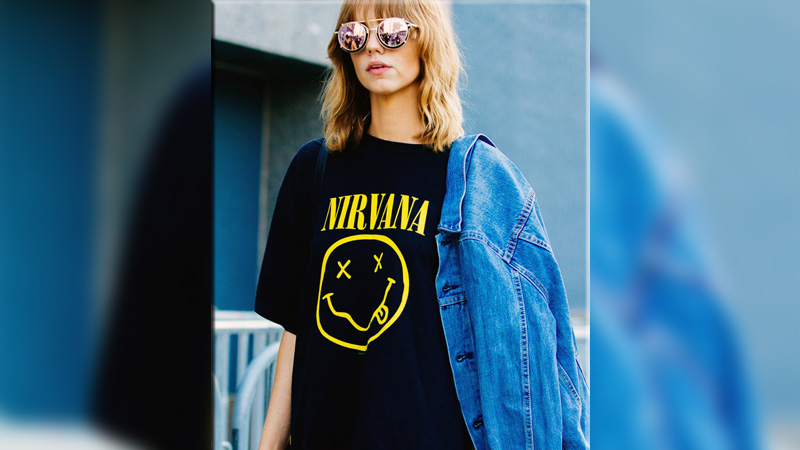 1d8e5e629 Marc Jacobs has denied that he stole the iconic Nirvana smiley face LOGO  design for his 'HEAVEN' fashion collection. Last December, the fashion  designer was ...