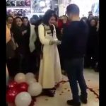 Young Iranian couple arrested for proposing in public